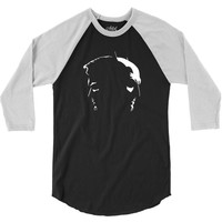 batman vs superman silhouette 3/4 Sleeve Shirt