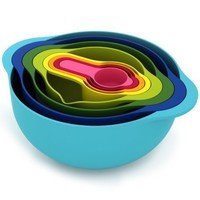 Joseph Joseph 8-Piece Food Preparation Nesting Set