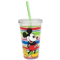 Mickey Mouse Tumbler with Straw - Summer Fun - Multicolor | Disney Store