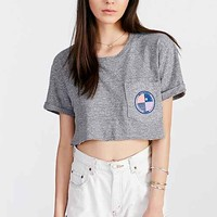 Monrow High On Life Cropped Top