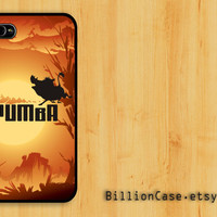 Pumba Porady Movie Lion King Africa - iPhone 4 Case iPhone 4s Case iPhone 5 Case idea case Galaxy Case Hard Plastic Case Rubber Case
