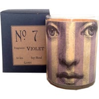 Violet Wood Candle No. 7