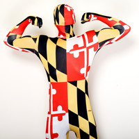 Maryland Flag / Body Suit
