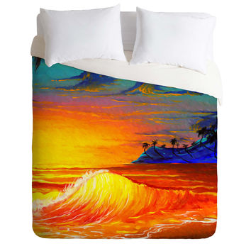 Madart Inc. Tropical Vision 2 Duvet Cover