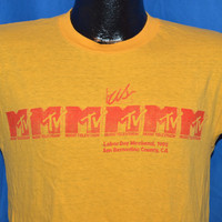 80s US Festival MTV Labor Day 1982 San Bernardino CA t-shirt Medium