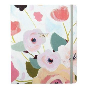 PAINTED PETALS DATED PLANNER 2018