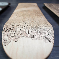 Insertion - One-of-a-Kind Hand Burned Skateboard Deck