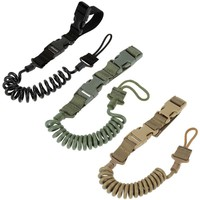 Tactical Rifle Sling Adjustable Bungee Tactical Two Point Airsoft Gun Strap System Paintball Gun Sling