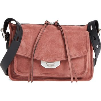 rag & bone Small Leather Field Messenger Bag | Nordstrom