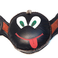Soft toy pillow Little Devil, leather toy, leather pillow, leather toy in car, soft toy, smile toy, Children's toys