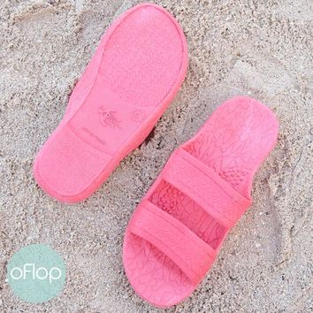 Pink Kids Jandals ® -- Pali Hawaii Hawaiian Jesus Sandals