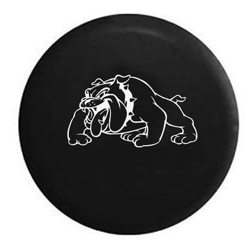USMC Bulldog Military Devil Dog OEM Tire Cover RV Camper Jeep Spare Tire Cover