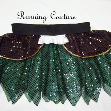 Zarina Pirate Fairy inspired Sparkle Running Misses round skirt Peter Pan, Tinkerbell