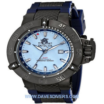 INVICTA SUBAQUA GMT LIMITED DOTION 500M WATCH