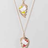 Hello Kitty X ASOS Best Friends Necklace Set at asos.com