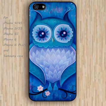 iPhone 5s 6 case colorful night owl Dream colorful phone case iphone case,ipod case,samsung galaxy case available plastic rubber case waterproof B496