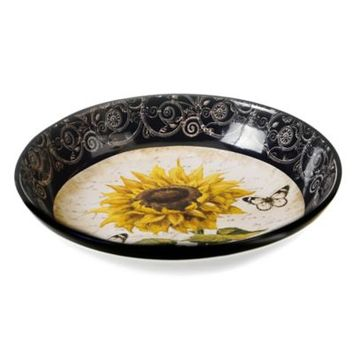Certified International French Sunflower Serving/Pasta Bowl