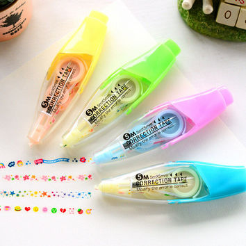 Sweet Coloful Candy DIY Decorative Correction Tape Promotional Gift Stationery Student Prize School Office Supply