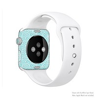 The Tiffany Blue & White Swirls Full-Body Skin Kit for the Apple Watch