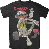 Gorillaz Noodle Chopper Slim Fit T-shirt