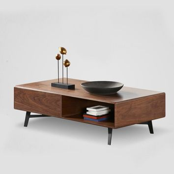 Black Walnut 51.1'' Tea Tables