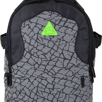 Sprayground Reflective Neon Flux Deluxe Backpack Rucksack