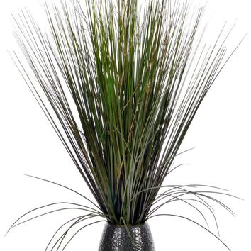 "30"" Tall Grass with Twigs in Ceramic Pot"