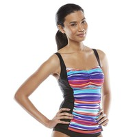Croft & Barrow Fit for You Tummy Slimmer D-Cup Tankini