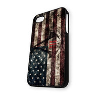 Assassin's Creed Logo American Style Flag iPhone 5C Case