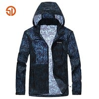 Fashion Camouflage Jacket Men Spring Summer Style Outerwear Sun Clothing Skin Clothing Windbreaker Breathable Skin Clothes