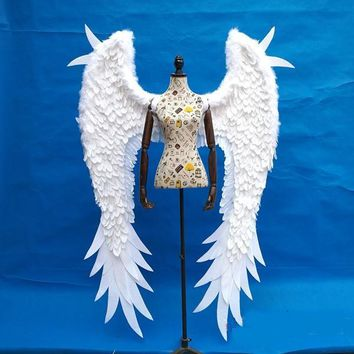 Adults' Beautiful Angel Feather Wings Cosplay Angel Fairy