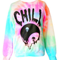 Chill Out Pastel Tie Dye Shirt