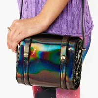 Hologram Satchel - Black