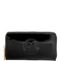 Patent Continental Wallet - Tory Burch