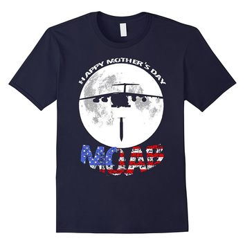 Patriotic MOAB T Shirt Happy Mother's Day Bomber T