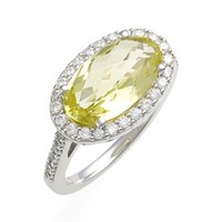 Women's Lafonn 'Aria' Oval Cut Ring