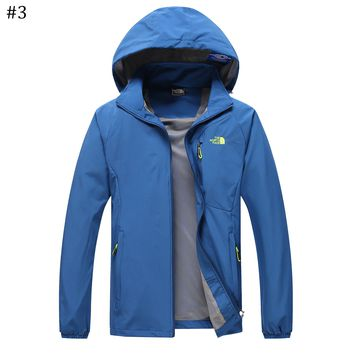 The North Face Spring and Autumn Outdoor Thin Mountaineering Jacket #3