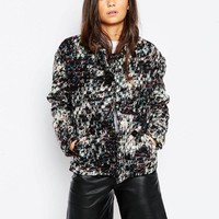 By Zoe | By Zoe Poca Jacket in Wool Mix at ASOS