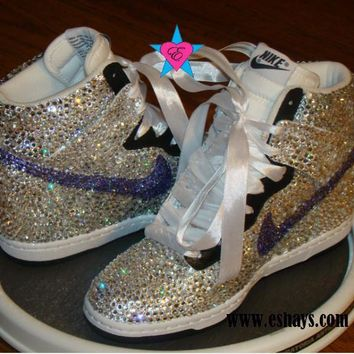 Nike Air Force 1 Hand painted Glitter from Kreation4u on Etsy 4f684b2e70