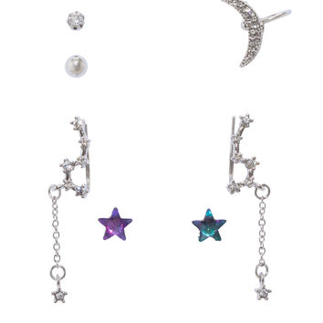 Blackheart Celestial Earring Set