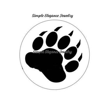 Bear Paw Snap 20mm for Snap Charm Jewelry