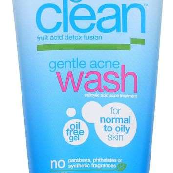 Alba Botanica Good And Clean Gentle Acne Wash - 6 Oz