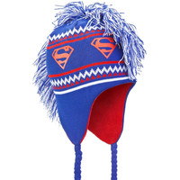 Superman - Logo Mohawk Peruvian Knit Hat