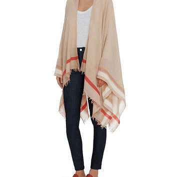 Rag & Bone Addie Poncho at INTERMIX | Shop Now | Shop IntermixOnline.com