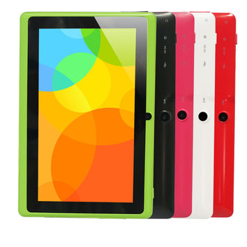 Yuntab 7 inch Quad core Q88 1.5GHz android 4.4 tablet pc allwinner A33 512M 8GB ROM Capacitive Screen Dual cam WIFI
