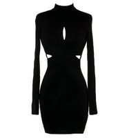 Longsleeve Cutout Dress