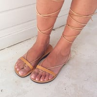 gladiator sandals,Lace Up Leather Sandals,womens sandals, leather sandals