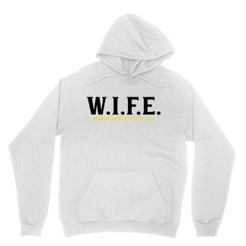 Wife.. Washing Ironing Fucking Etc Hoodie