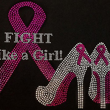 Best Bling Pink Ribbon Shirts Products On Wanelo
