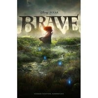 Disney Brave Movie Poster